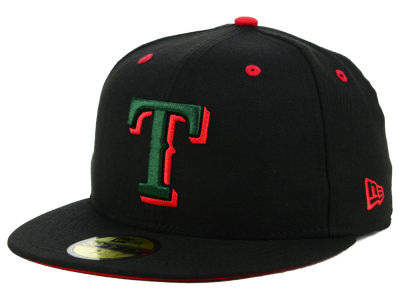 Texas Rangers New Era MLB Italian 59FIFTY Cap