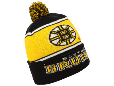 Boston Bruins Forever Collectibles NHL Big Logo Light Up Knit