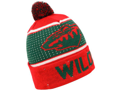 Minnesota Wild Forever Collectibles NHL Big Logo Light Up Knit