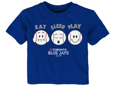 Toronto Blue Jays Majestic MLB Infant Eat, Sleep, Play T-Shirt