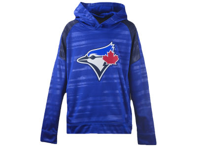 Toronto Blue Jays Majestic MLB Youth Clubhouse Streak Hoodie