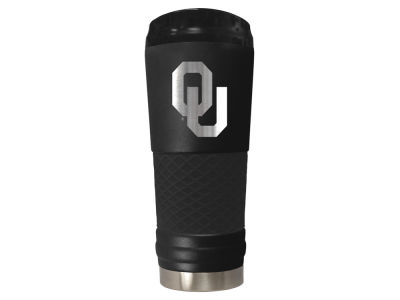 "Oklahoma Sooners 24oz ""The Draft"" Stainless Steel Tumbler"