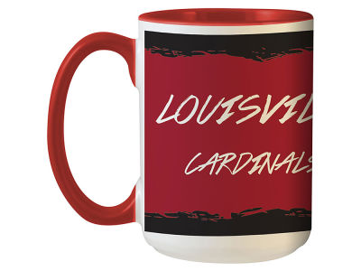 Louisville Cardinals State of Mind 15oz Mug