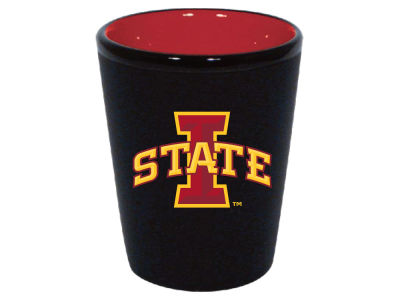 Iowa State Cyclones 2oz Black Matte Collector Shot Glass