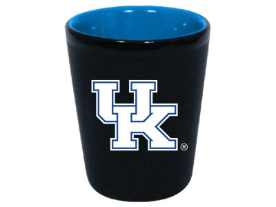 Kentucky Wildcats 2oz Black Matte Collector Shot Glass