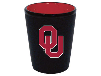 Oklahoma Sooners 2oz Black Matte Collector Shot Glass
