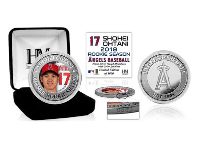 Los Angeles Angels Shohei Ohtani Highland Mint Silver Mint Coin