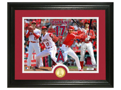 Los Angeles Angels Highland Mint Photo Mint Coin-Bronze