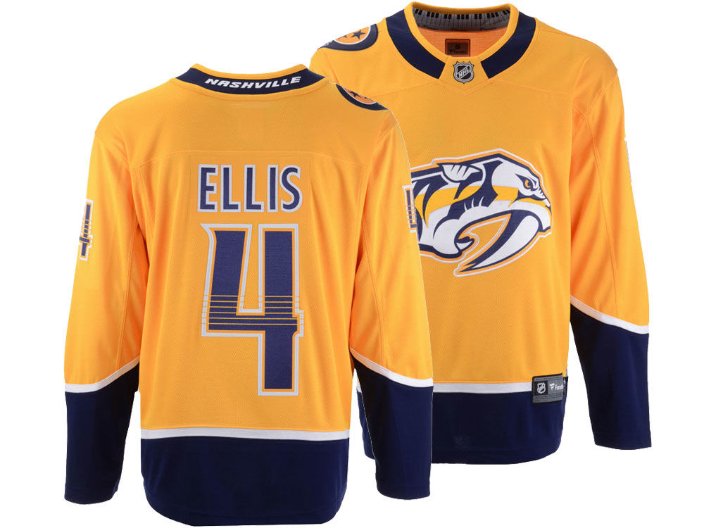 Nashville Predators Ryan Ellis NHL Branded NHL Men s Breakaway Player Jersey d2451e435