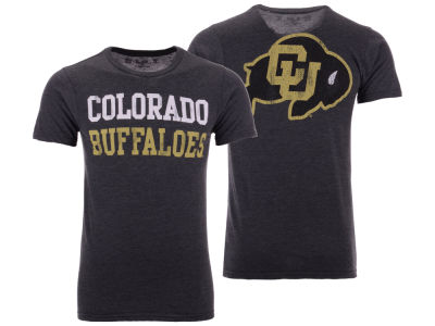Colorado Buffaloes The Victory NCAA Men's Team Stacked Dual Blend T-Shirt