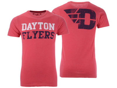 6ef5eee8970 Dayton Flyers The Victory NCAA Men's Team Stacked Dual Blend T-Shirt