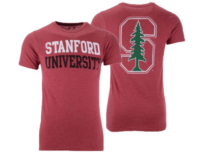 Stanford Cardinal The Victory NCAA Men's Team Stacked Dual Blend T-Shirt