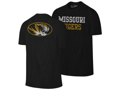 Missouri Tigers The Victory NCAA Men's Team Stacked Dual Blend T-Shirt