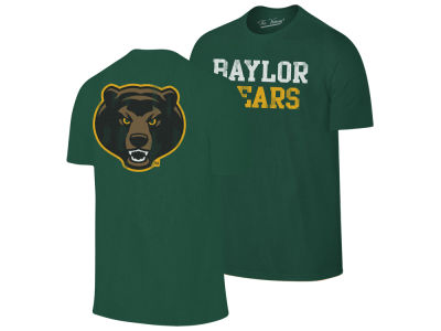 Baylor Bears Retro Brand NCAA Men's Team Stacked Dual Blend T-Shirt