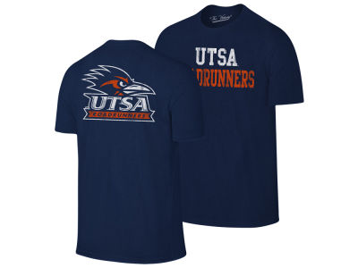 University of Texas San Antonio Roadrunners Retro Brand NCAA Men's Team Stacked Dual Blend T-Shirt
