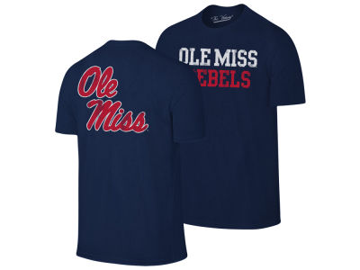 Ole Miss Rebels The Victory NCAA Men's Team Stacked Dual Blend T-Shirt