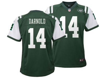 New York Jets Sam Darnold Nike NFL Youth Game Jersey