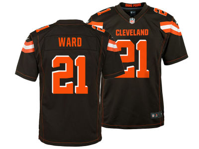 Cleveland Browns Denzel Ward Nike NFL Youth Game Jersey