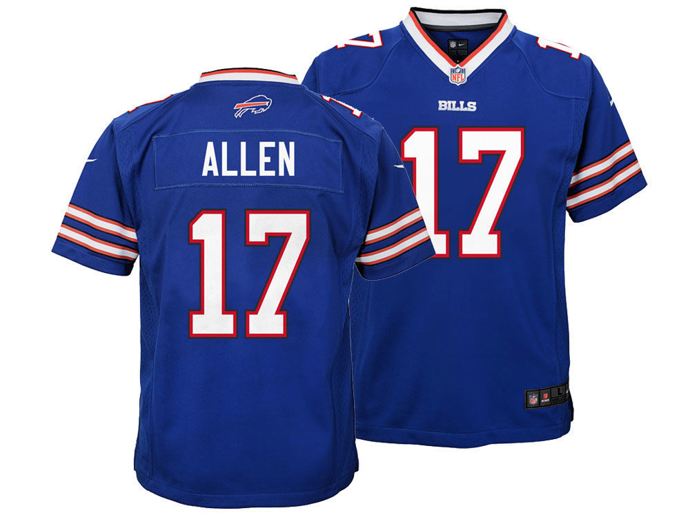 Buffalo Bills Josh Allen Nike NFL Youth Game Jersey  1e3fdba20