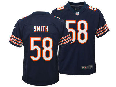 Chicago Bears Roquan Smith Nike NFL Youth Game Jersey