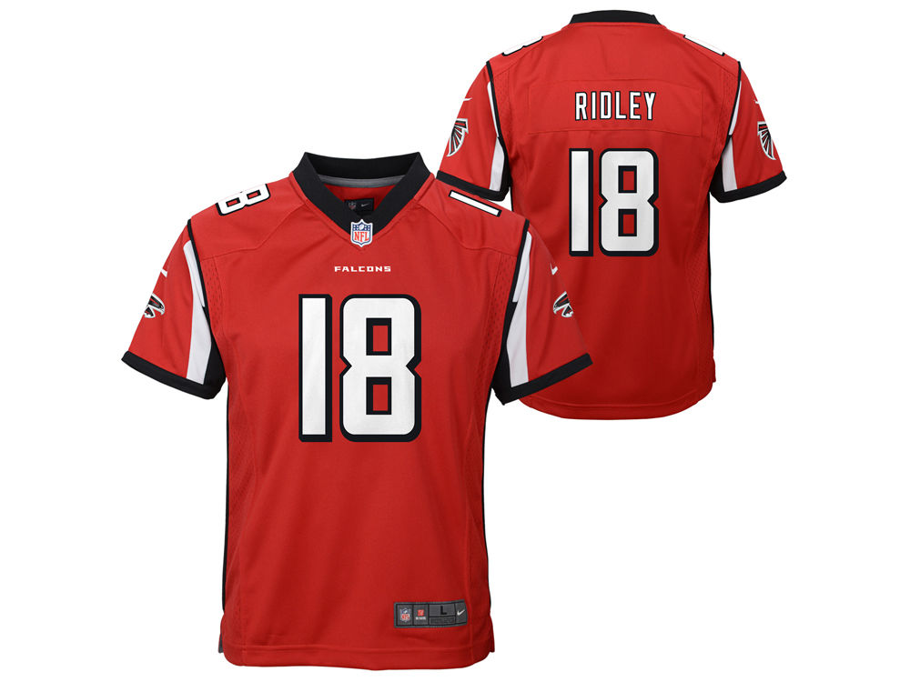 d60af5917 Atlanta Falcons Calvin Ridley Nike NFL Youth Game Jersey