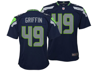 Seattle Seahawks Shaquem Griffin Nike NFL Youth Game Jersey