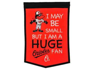 Baltimore Orioles Winning Streak Lil Fan Banner