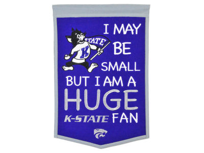 Kansas State Wildcats Winning Streak Lil Fan Banner