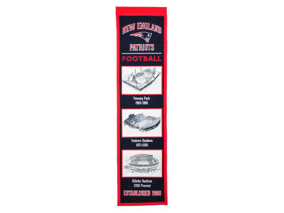 New England Patriots Winning Streak Stadium Evolution Banner