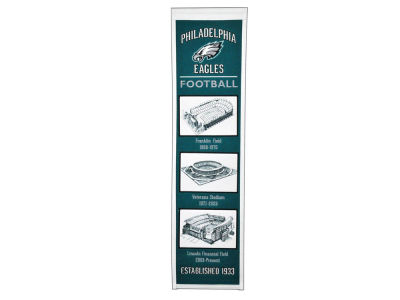 Philadelphia Eagles Winning Streak Stadium Evolution Banner