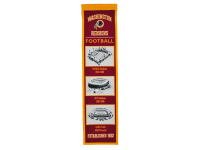 Washington Redskins Winning Streak Stadium Evolution Banner