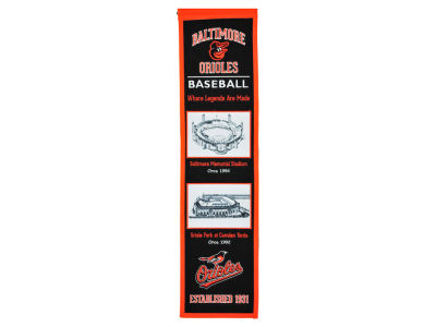 Baltimore Orioles Winning Streak Stadium Evolution Banner