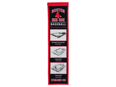 Boston Red Sox Winning Streak Stadium Evolution Banner