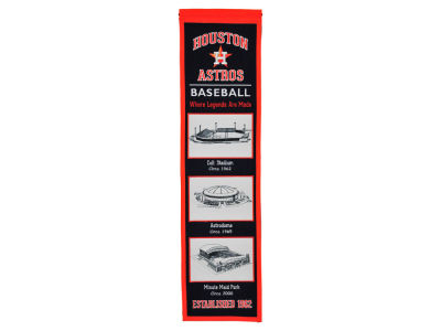 Houston Astros Winning Streak Stadium Evolution Banner