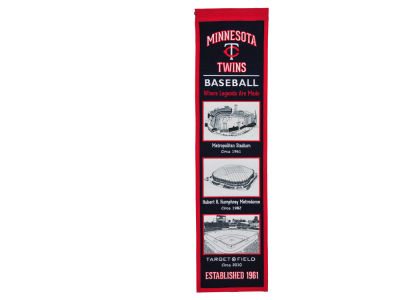 Minnesota Twins Winning Streak Stadium Evolution Banner