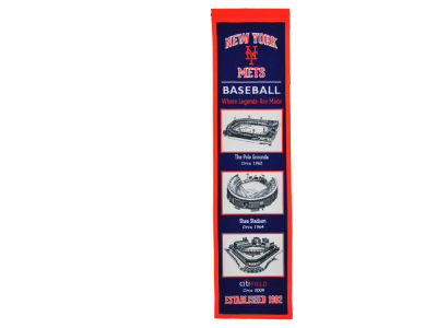 New York Mets Winning Streak Stadium Evolution Banner