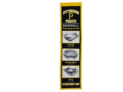 Pittsburgh Pirates Winning Streak Stadium Evolution Banner