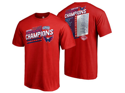 Washington Capitals Majestic NHL Men's Conference Champs Roster T-Shirt