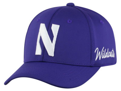 Northwestern Wildcats Top of the World NCAA Phenom Flex Cap eaf558e7693c
