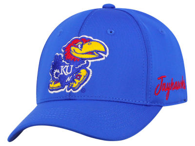 Kansas Jayhawks Top of the World NCAA Phenom Flex Cap