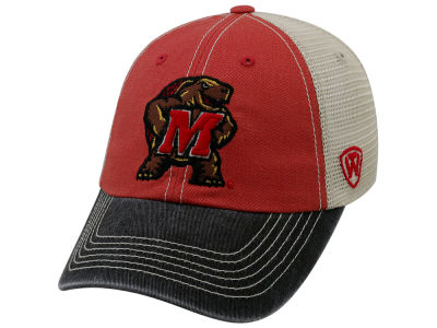 Maryland Terrapins Top of the World NCAA Offroad Adjustable Cap