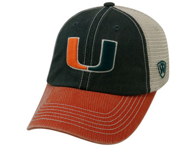 Miami Hurricanes Top of the World NCAA Offroad Adjustable Cap