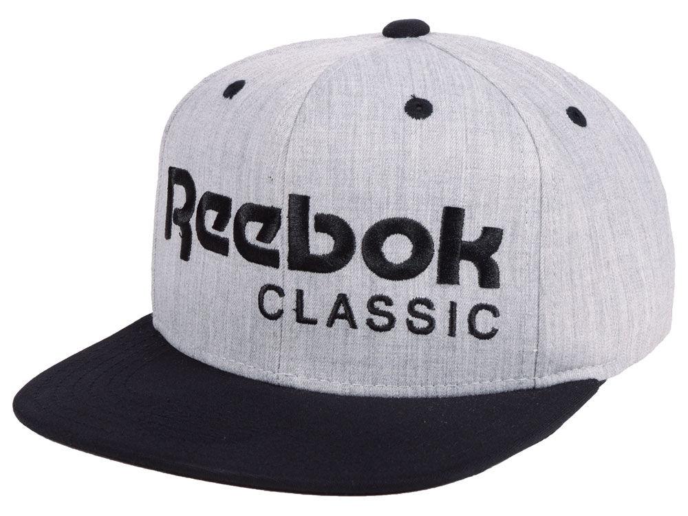 Reebok Classic Heathered Snapback Cap  7e443700b70