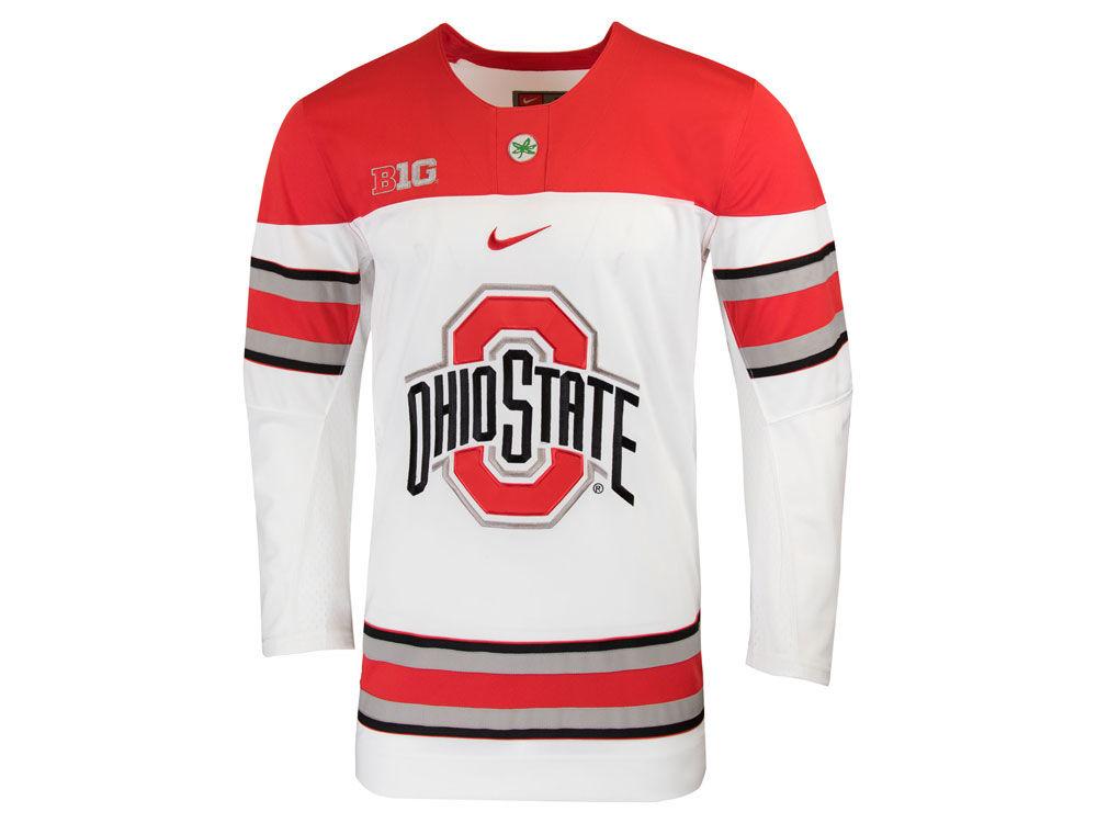 81e9a2514 Ohio State Buckeyes Nike 2018 NCAA Men s Limited Hockey Jersey ...