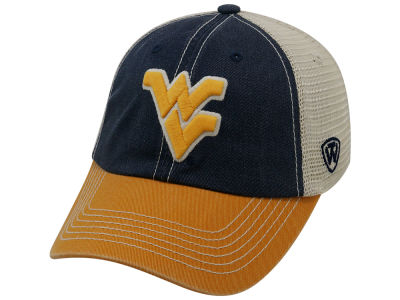 West Virginia Mountaineers Top of the World NCAA Offroad Adjustable Cap