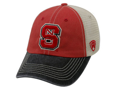 the latest 50324 18b5f ... real north carolina state wolfpack top of the world ncaa offroad adjustable  cap 8ee6c badd5