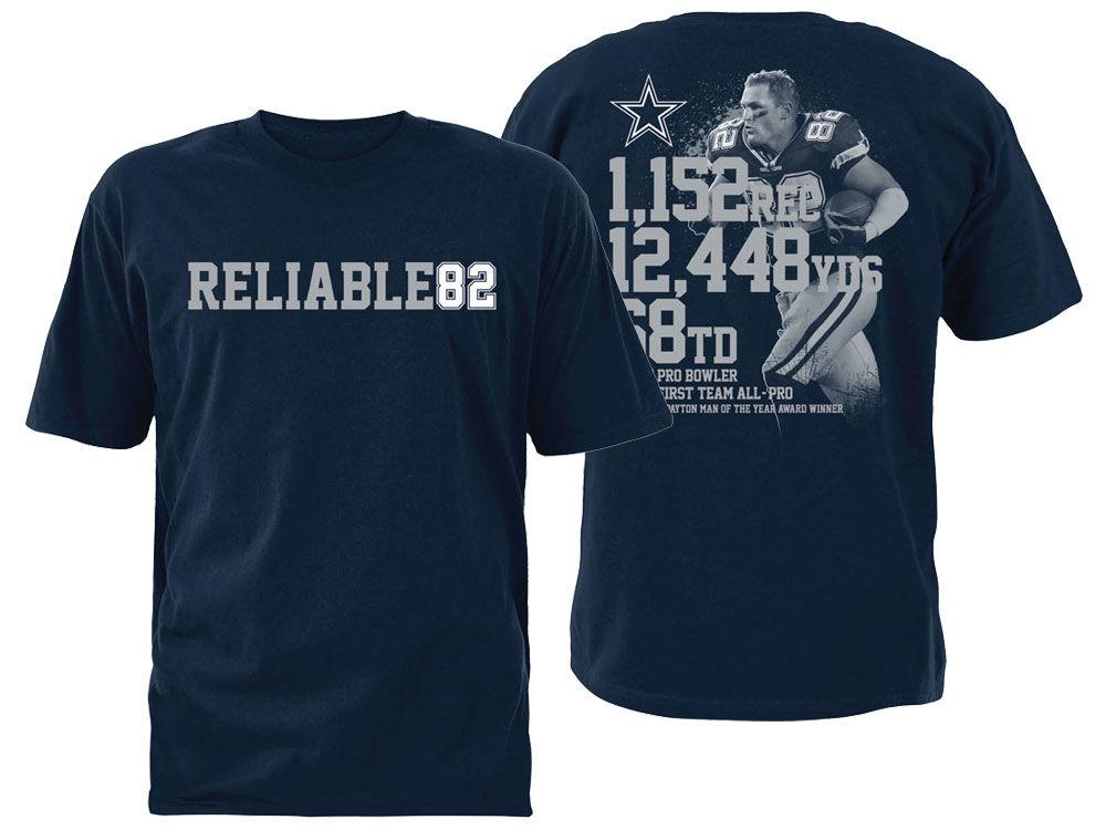 2fa79bba1 Dallas Cowboys Jason Witten DCM NFL Men s Reliable 82 T-shirt