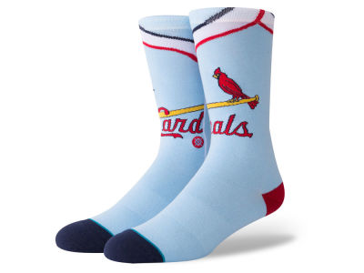 St. Louis Cardinals Stance MLB Coop Jersey Crew Socks