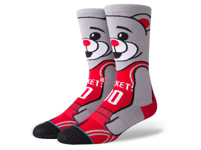 Houston Rockets Stance NBA Mascot Crew Socks