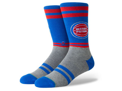 Detroit Pistons Stance NBA City Gym Crew Socks